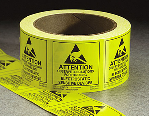 elecrostatic labels